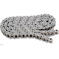 EK Chain - Drive Chain - 530 ZZZ/180 Links/Silver Metallic Side Plates/X-Ring Chain/11,100 Tensile/ZST Zero Stretch Technology