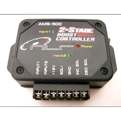 NLR Systems - AMS 500 Boost Controller - Two Stage/3 Modes/Dual Input Channels/40 PSI Sensor