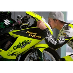 Blog - James Rispoli on the #1 Celtic Orient Express Racing machine