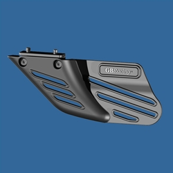 GB Racing Shark Fin Chain Guard Long Glass Fiber Reinforced Nylon Composite Suzuki Kawasaki