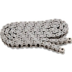 EK Chain - Drive Chain - 525 ZZZ/150 Links/Chrome Side Plates/X-Ring Chain/10,300 Tensile/ZST Zero Stretch Technology