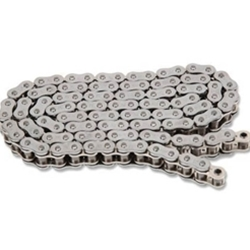 EK Chain - Drive Chain - 525 ZZZ/160 Links/Silver Side Plates/X-Ring Chain/10,300 Tensile/ZST Zero Stretch Technology