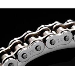EK Chain - Drive Chain - 525 ZVX-2/130 Links/Chrome Side Plates/10,300 Tensile/X-Ring Chain