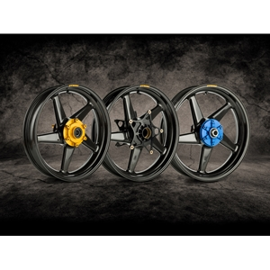 Dymag - Carbon CA5/Carbon Fiber/5 Spoke/Ultra Lightweight/Pair