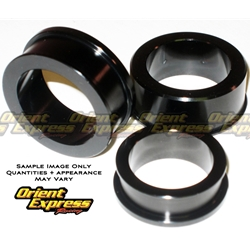 Orient Express Captive Wheel Spacer Kit Triumph Daytona & Street Triple 675 675R 2006 2012 4 Piece Kit