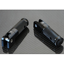 Sato Racing Folding Footpegs 6mm Pin Pair Black Anodized