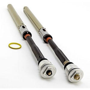 K-Tech Suspension 25SSK IDS Fork Cartridges Kawasaki EX 650 Ninja ER-6 2009 2016 Showa Forks Springs Included