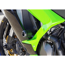 Sato Racing Frame Sliders Kawasaki ZX 6R 636 Ninja 2013 Delrin Sliders No Fairing Modifications Black