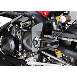 Sato Racing Rear Sets Triumph Daytona 675 675R 2013 2013 Fully Adjustable Billet Aluminum Standard Or Reverse Shift