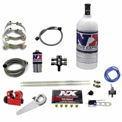 Nitrous Express Dry Done Right 4 Cylinder Motorcycle System With 1 Pound Bottle