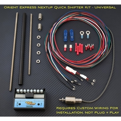 NextUp Quickshifter Kit Universal Terminal Connectors Gear Position Adjustable Pull Sensor