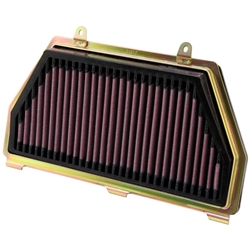 K&N Engineering High Performance Air Filter Honda CBR 600RR 2007 2014 Cleanable Re-useable