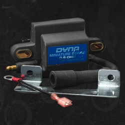 Dynatek Dyna Ignition Coil Kit Yamaha YFZ 350 Banshee 1987 2006 Includes Plug Wire Mounting Hardware