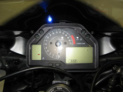 Bazzaz Performance - TC Activity Light/Blue/Traction Control Activity Display Light Only