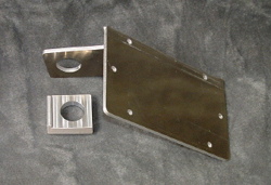 Tiger Racing - License Plate Bracket