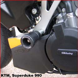 GB Racing - Frame Sliders