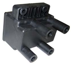 Dynatek - Dyna Ignition Coil - For Dyna 2000 Applications/3 Ohm/Four Tower/Twin Fire/Dual Plug/Single Fire/Street Or Race/Black/1 Per Package/HD