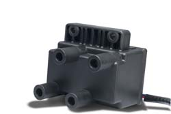 Dynatek - Dyna Ignition Coil - For Dyna 4000 Applications/.7 Ohm/Four Tower/Twin Fire/Race Only/High Energy/Black/1 Per Package