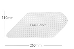 Eazi-Grip Evo Tank Grip Large Universal Cut To Fit Sheet/Clear