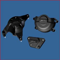 GB Racing Engine Cover Set Yamaha YZF 600 R6 2008 2014 Fits Standard Engine Covers Only Precision Injection Molded