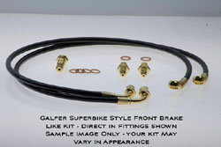 Galfer Front Brake Line Kit