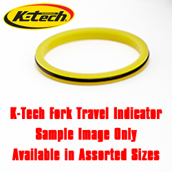 K-Tech Suspension Fork Travel Indicator 47mm Universal Low Friction Requires Fork Disassembly For Installation SOLD EACH