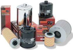 K&N Engineering - High Performance  Oil Filter - Yamaha - OEM # 3LD-13447-00-00 - Assorted Models - Cartridge Style Small