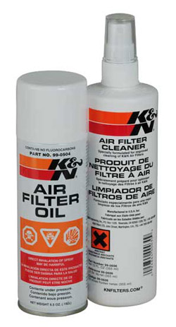 K&N Engineering Recharger High Performance Air Filter Care Service Kit Spray Oil & Pump Cleaner