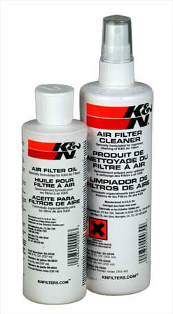 K&N Engineering Recharger Air Filter Care Service Kit Squeeze Oil & Pump Cleaner
