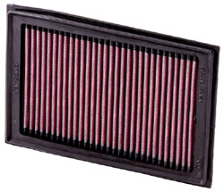 K&N Engineering High Performance Air Filter Kawasaki EX 250R Ninja 2008 2013 Cleanable Reusable