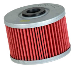 K&N Engineering - High Performance Oil Filter - Honda - OEM #15412KF0315/Kawasaki OEM #52010-1053 - See Application Chart Inside/Cartridge Style
