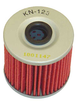 K&N Engineering - High Performance Oil Filter - Kawasaki - OEM #16099-004 - See Application Chart Inside/Cartridge Style