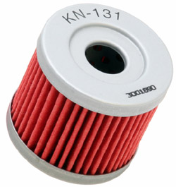 K&N Engineering - High Performance Oil Filter - Suzuki - OEM #16510-05240 - See Application Chart Inside/Spin On Style