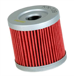 K&N Engineering - High Performance Oil Filter - Suzuki - OEM #16510-29F00 - See Application Chart Inside/Cartridge Style