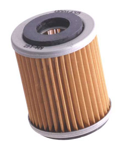 K&N Engineering - High Performance Oil Filter - Yamaha - OEM #1UY-134-400-200 - See Application Chart Inside/Cartridge Style