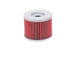 K&N Engineering - High Performance Oil Filter - Aprilia OEM #026185/BMW OEM #11412-343-452/Bombardier OEM #711256185/Cartridge Style