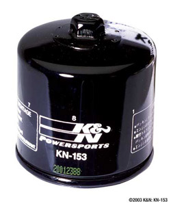 K&N Engineering - High Performance Oil Filter - Ducati OEM #0444-400-34A/Most Models/See Application Chart Inside/Spin On Style