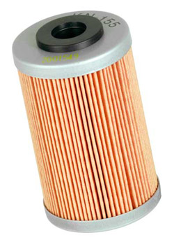 K&N Engineering - High Performance Oil Filter - KTM OEM #580-3800-5100/Many Models/See Application Chart Inside/Cartridge Style