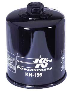 K&N Engineering - High Performance Oil Filter - KTM OEM #583-3804-5100/Many Models/See Application Chart Inside/Spin On Style