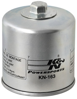 K&N Engineering - High Performance Oil Filter - BMW OEM #114-214-608-45/Many Late Models/See Application Chart Inside/Spin On Style