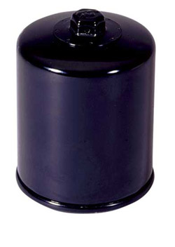 K&N Engineering - High Performance Oil Filter - Harley Davidson OEM #6380-580A/Many Models/See Application Chart Inside/Spin On Style/Black