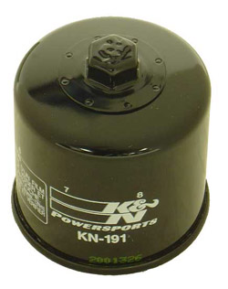 K&N Engineering - High Performance Oil Filter - Triumph OEM #T121-0200/Many 1997-2005 Models/See Application Chart Inside/Spin On Style