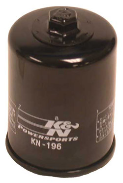 K&N Engineering - High Performance Oil Filter - Polaris OEM #2540-006/Sportsman 700 2002-2004/Frontier 2003-2005/Sportsman 600 2003-2004/Spin On Style