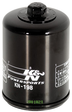 K&N Engineering - High Performance Oil Filter - Polaris OEM #2540-122/Many Victory & Polaris ATV's 2002-2010/Spin On Style