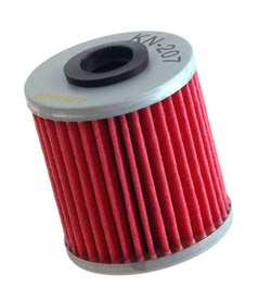 K&N Engineering - High Performance Oil Filter - Kawasaki OEM #52010-0001/Suzuki OEM #16510-35G00/See Application Chart Inside/Cartridge Style