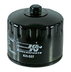 K&N Engineering - High Performance Oil Filter - Bombardier OEM #711-256-620 - Traxter 500 1999-2005/John Deere Buck 500 2005/Spin On Style