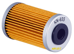 K&N Engineering - High Performance Oil Filter - KTM OEM #770-3800-5044/Most 2005-2009 250 MX Models/See Application Chart Inside/Cartridge Style