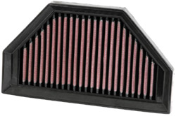 K&N Engineering High Performance Air Filter KTM RC8 1190 2008-2011/RC8R 1190 2013/Cleanable & Re-useable