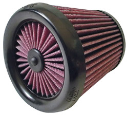 K&N Engineering - High Performance Air Filter - Universal - Round Tapered Element/Straight Flange/X-Streme/6 x 4.5 x 6.125