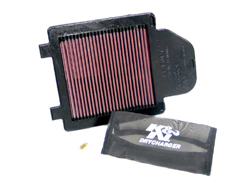 K&N Engineering High Performance PowerLid Air Filter Yamaha YFZ 450 2004 2013 Cleanable Reusable